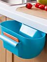 cozinha plastico caixa de armazenamento de residuos / cozinha receber um caso (cores sortidas)