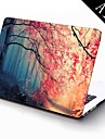 """Case for Macbook Air 11.6""""/13.3"""" Tree Plastic Material Pink Autumn Forest Design Full-Body Protective Plastic Case"""