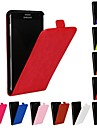 Case For Samsung Galaxy Samsung Galaxy Note Flip Full Body Cases Solid Color PU Leather for Note 4