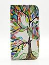 케이스 제품 Samsung Galaxy 삼성 갤럭시 케이스 카드 홀더 스탠드 플립 패턴 전체 바디 케이스 나무 PU 가죽 용 S6