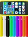 iPhone 5/아이폰 5S - 뒷 커버 - 특별 디자인 (레드/블랙/화이트/그린/블루/핑크/옐로우/퍼플/로즈/오렌지 , 실리콘)