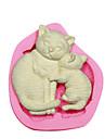 кошка мать&котенок силиконовые формы для украшения торта силиконовые формы для помадные конфеты ремесла ювелирных изделий PMC смолы