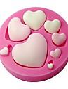 помады форме сердца силиконовые формы, ремесло формы, декоративные формы торт