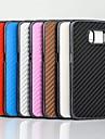 коврик ткачество зерна шаблон пластиковая крышка для Samsung Galaxy S6 край