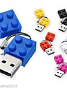 novo brinquedo tijolos cartoon 8gb usb disco usb 2.0 flash pen drive