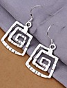 Women\'s Drop Earrings Sterling Silver Jewelry Wedding Party Daily Casual Costume Jewelry