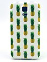 Multiple Small Pineapple Pattern TPU Soft Case for Galaxy S5 Mini