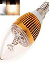 350 lm E14 Luzes de LED em Vela leds LED de Alta Potencia Branco Quente Branco Frio AC 85-265V