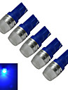 T10 Decoration Light 1 High Power LED 90lm lm Blue Blue K DC 12 V