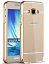 Para Samsung Galaxy Capinhas Galvanizado Capinha Capa Traseira Capinha Cor Unica Rigida Acrilico para SamsungA9(2016) / A7(2016) /