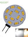 SENCART G4 / T10 / Feston Elpærer SMD 5730 / SMD 5630 / Høj præstations-LED 450-550lm
