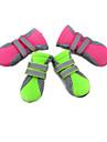 Chat Chien Chaussures & Bottes Etanche Couleur Pleine Vert Rose Pour les animaux domestiques