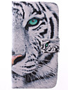 For Samsung Galaxy Case Card Holder / with Stand / Flip / Pattern Case Full Body Case Animal PU Leather Samsung Grand 2