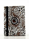 Case For iPad Air 2 with Stand Origami 360° Rotation Full Body Cases Leopard Print PU Leather for iPad Air 2