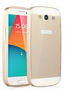 Pour Samsung Galaxy Coque Antichoc Coque Coque Arriere Coque Couleur Pleine Polycarbonate pour Samsung S3
