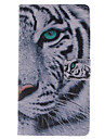 Case For Samsung Galaxy Samsung Galaxy Case Card Holder Wallet with Stand Flip Full Body Cases Animal PU Leather for S3