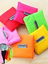 большая емкость моды многоразовые торговый мешок хранения диван-состоянии продуктовые сумки тотализатор (случайный цвет)