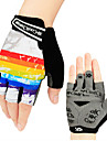 CoolChange Sports Gloves Bike Gloves / Cycling Gloves Wearable Wearproof Wicking Anti-skidding Fingerless Gloves Leisure Sports Cycling /