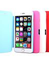 искусственная кожа полный чехол для iPhone 6 (ассорти цветов)