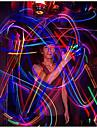 luz de dedo LED colorida colorida 3pcs (cor aleatória)