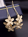 Women\'s Drop Earrings Costume Jewelry Alloy Flower Jewelry For Wedding Party Daily Casual