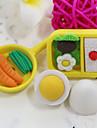 χαριτωμένα κινούμενα σχέδια σνακ γιαπονέζος τροφίμων συγκεντρώνουν γόμα από καουτσούκ (τυχαία χρώμα)