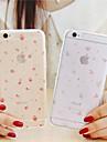 용 아이폰6케이스 / 아이폰6플러스 케이스 투명 / 패턴 케이스 뒷면 커버 케이스 꽃장식 소프트 TPU iPhone 6s Plus/6 Plus / iPhone 6s/6