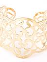 Bracelet Manchettes Bracelets Alliage Soiree / Quotidien / Decontracte Bijoux Cadeau Dore / Argent,1pc