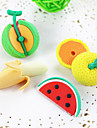 Cartoon Fruit Banana Watermelon DIY Rubber Eraser School Student Children Prizes Gift