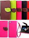 Case For Huawei Y550 Huawei G7 Huawei P8 Other Huawei Huawei P8 Lite Huawei Case Full Body Cases Solid Color Hard PU Leather for Huawei