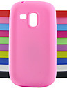 Case For Samsung Galaxy Samsung Galaxy Case Shockproof Back Cover Solid Color Silicone for S3 Mini