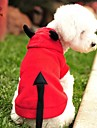 Кошка Собака Костюмы Толстовки Одежда для собак Вампиры Красный Флис Костюм Для домашних животных Муж. Жен. Очаровательный Косплей