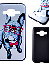 For Samsung Galaxy Case Pattern Case Back Cover Case Dog PC Samsung Xcover 3 / J1 / Core Prime / Alpha / Ace 4