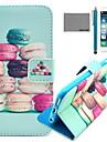 Для Кейс для iPhone 6 / Кейс для iPhone 6 Plus Кошелек / Бумажник для карт / со стендом / Флип / С узором Кейс для Чехол Кейс для