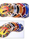 5 couleurs 4m / lot (volume) de sortie de voiture bricolage interieur du climatiseur vent calandre chrome decoration bande de style