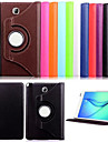Case For Samsung Galaxy / Tab A 8.0 / Tab A 9.7 Samsung Galaxy Case with Stand / Flip Full Body Cases Solid Colored PU Leather for
