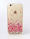 Coque Pour iPhone 5 Apple Coque iPhone 5 Transparente Motif Coque Coeur Flexible TPU pour iPhone SE/5s iPhone 5