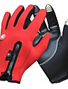 Sports Gloves Bike Gloves / Cycling Gloves Touch Gloves Keep Warm Waterproof Windproof Fleece Lining Wearable Breathable Anti-skidding