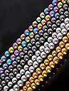 Beadia 1Str(Approx 77pcs) Natural Stone Beads 6mm Round Hematite Beads 4 Colors U-Pick