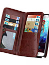 Etui Til iPhone 5 Apple iPhone 5 etui Kortholder Pung Flip Fuldt etui Helfarve Hårdt PU Læder for iPhone SE/5s iPhone 5