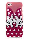 Назначение Кейс для iPhone 5 Чехлы панели С узором Задняя крышка Кейс для Мультипликация Мягкий Термопластик для iPhone SE/5s iPhone 5