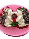 Hedgehog Fondant Cake Chocolate Silicone Molds,Decoration Tools Bakeware