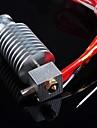 짧은 거리, 1.75mm로 / 0.4mm의 노즐 E3D 보우 덴 압출기를위한 3D 프린터 J-머리 hotend