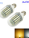 YouOKLight 6W 450-500 lm E26/E27 LED-maislampen T 90 leds SMD 3528 Decoratief Warm wit Koel wit DC 12V