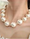 Femme Colliers/Sautoir Collier de perles Perle Imitation de perle Strass Imitation Diamant Alliage Mariee bijoux de fantaisie Bijoux Pour