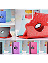 New Arrival Fashion Flower 360 Rotate Pu leather Case Cover Auto Sleep/Wake Up for ipad 4/3/2