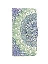 Broccoli Pattern PU Leather Full Body Case with Card Slot and Stand for iPhone 5C