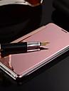 Для Кейс для  Samsung Galaxy Зеркальная поверхность / Флип Кейс для Чехол Кейс для Один цвет PC SamsungS7 edge / S7 / S6 edge plus / S6