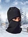 Ski Balaclava Hat Balaclava Winter Thermal / Warm Windproof Dust Proof Breathable Leisure Sports Cycling / Bike Men\'s Women\'s Fleece Solid