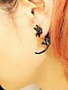Femme Boucles d\'oreille goujon - Or Noir Argent Leopard Animal Des boucles d\'oreilles Pour